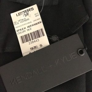 Kendall & Kylie Dresses - Kendall + Kylie Black Dress Size S New with Tags